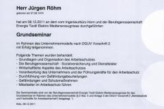 Seminar Reformierte Unfallverhütungsvorschrift 2, 2011