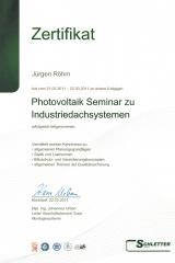 Photovoltaik-Anlagen Industrie-Dachsysteme, 2011