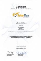 Umruestung von_SolarMax Wechselrichtern, 2013