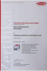 Fronius-Servicepartner Plus