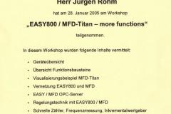 Easy800 MFD Titan, 2005